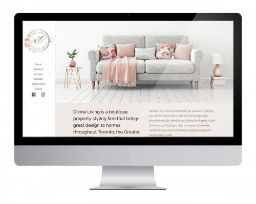 Website Design Divine Living