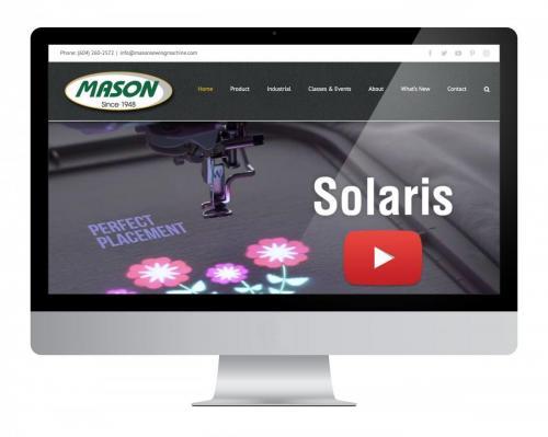 Website Design Mason Sewing