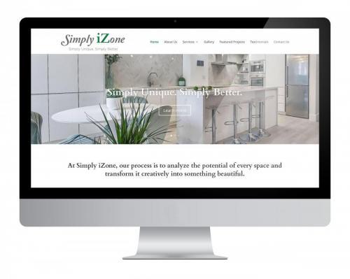 Website Design Simplyizone