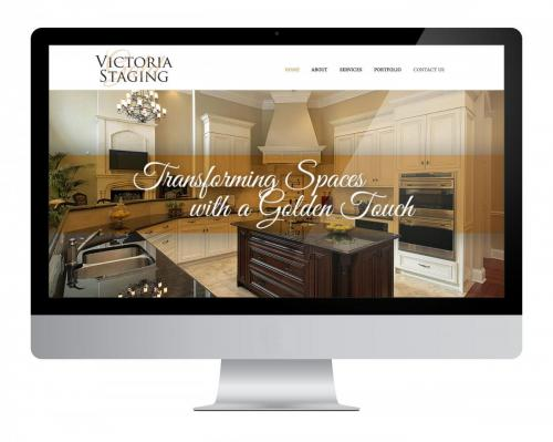 Website Design Victoria Gold